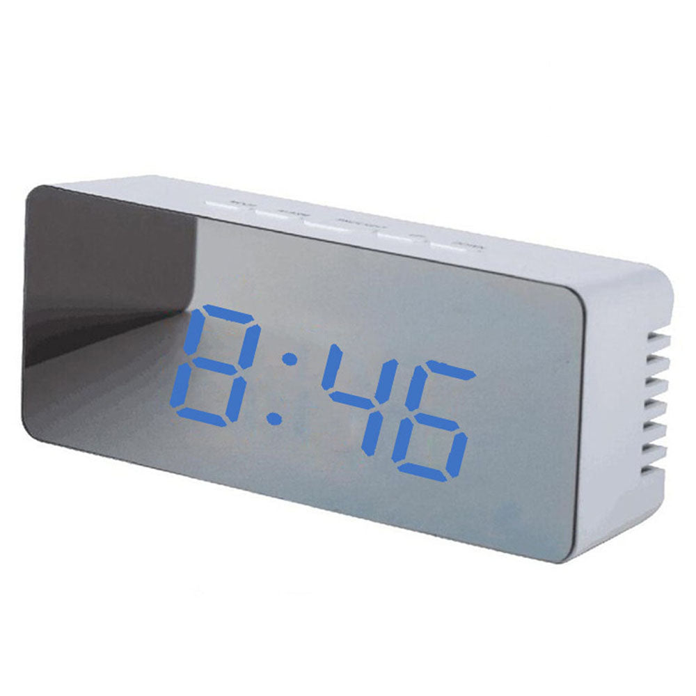 LED Multi-Function Mirror Clock