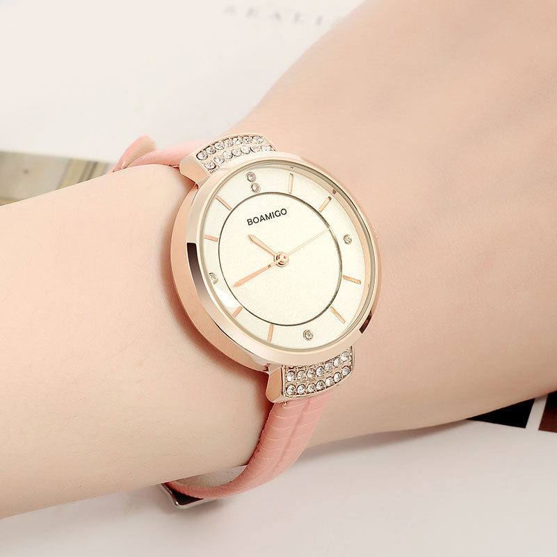 Ladies Rhinestone Dress Watch