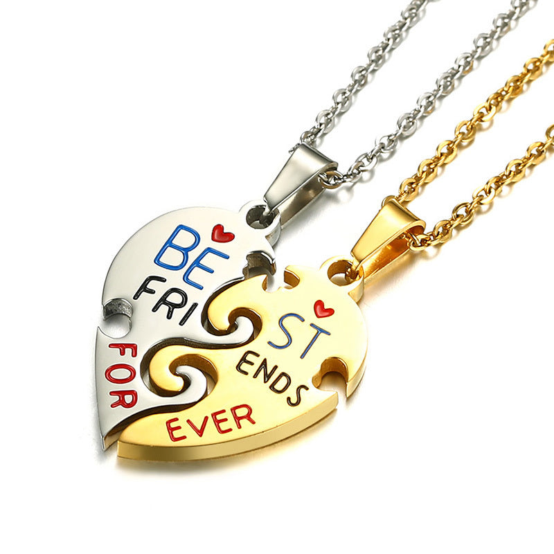 Best Friends Pendant Necklace