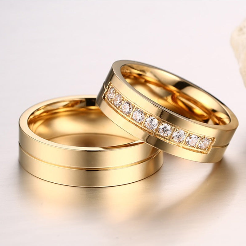 Romantic Lovers Rings