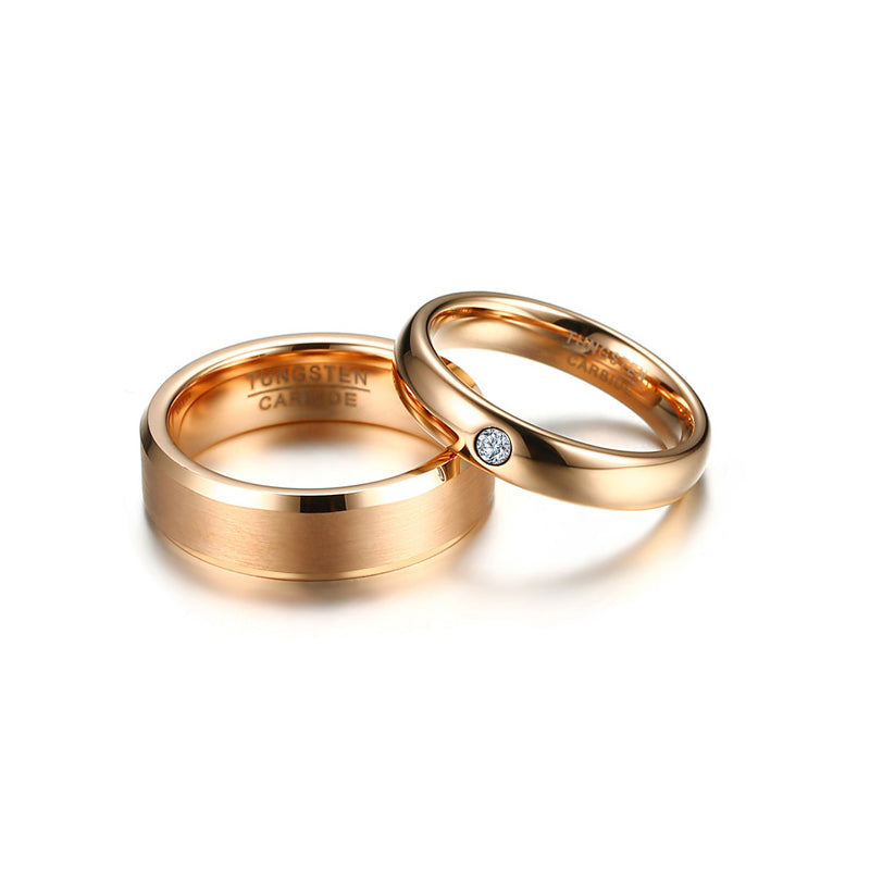 His & Hers Tungsten Wedding Ring