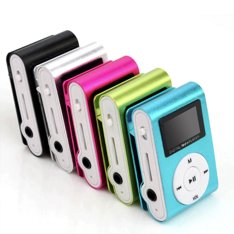 Metal Clip MP3 Player