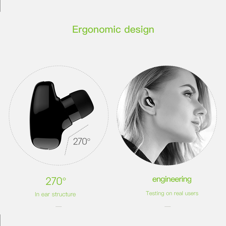 Mini Auricular Bluetooth Earbud