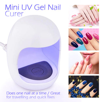 Mini UV Nail Care Quick Dryer