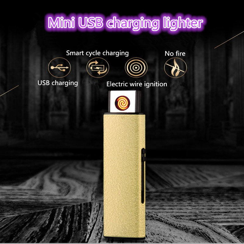 USB Windproof Flameless Lighter