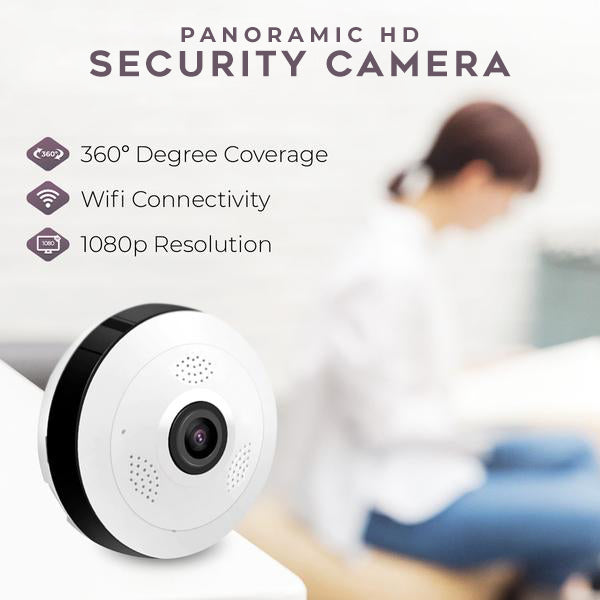 Panoramic HD Security Camera