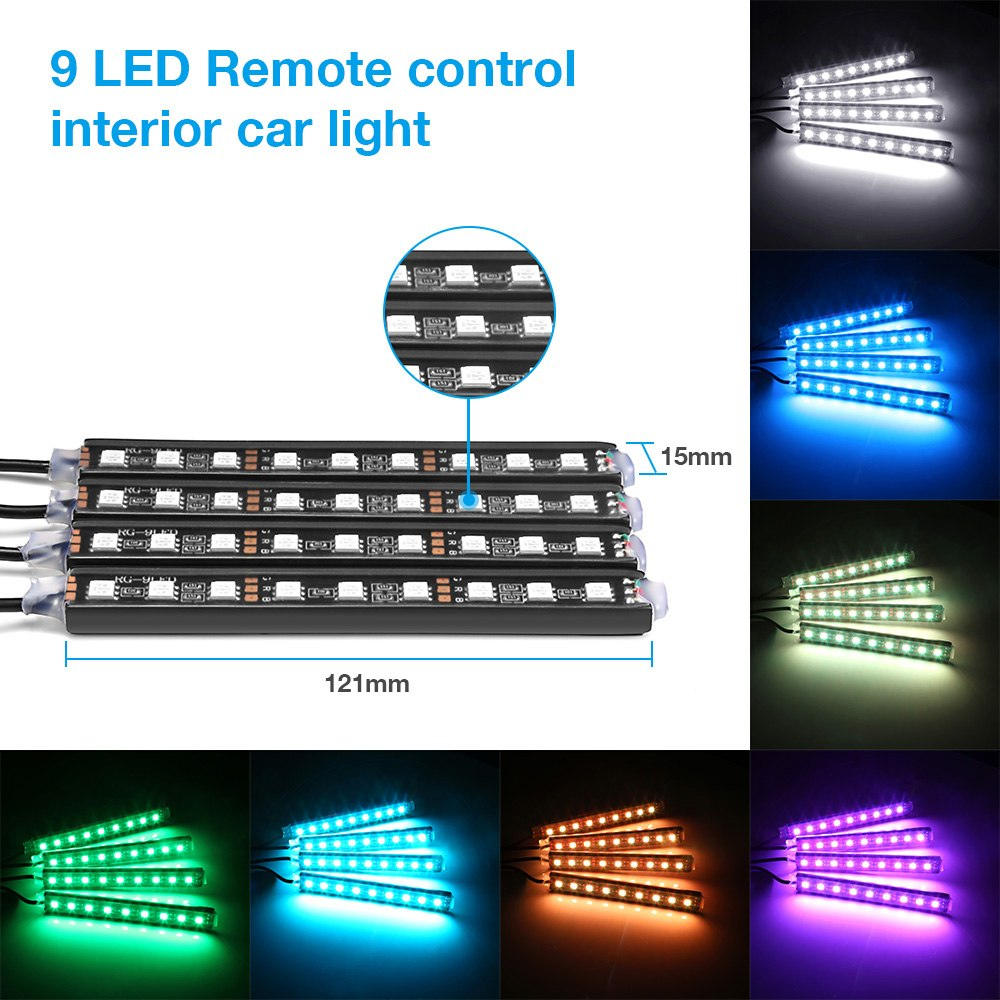 RGB LED Strip Car Lights