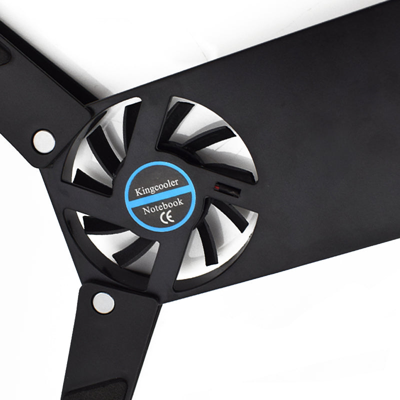 Rotatable USB Fan Cooling Pad