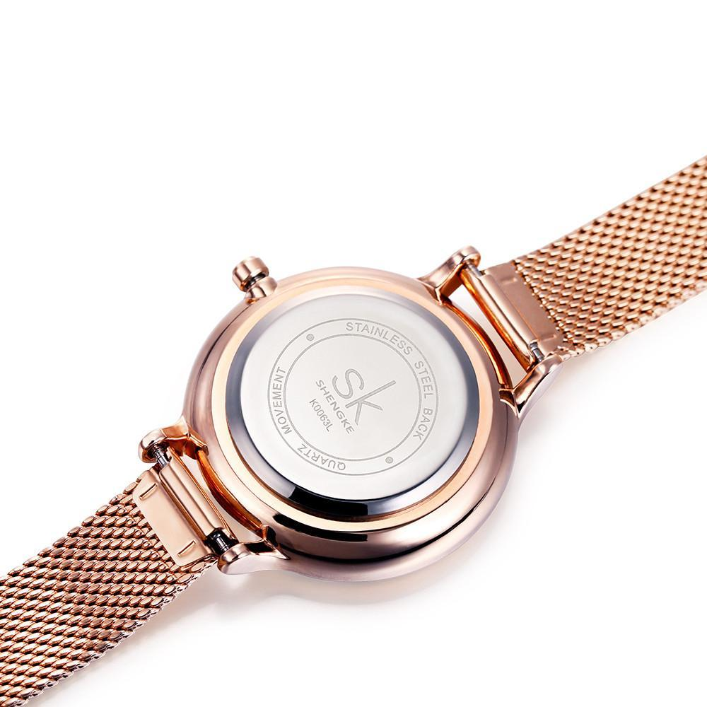 Rose Gold Ladies Luxury Watch