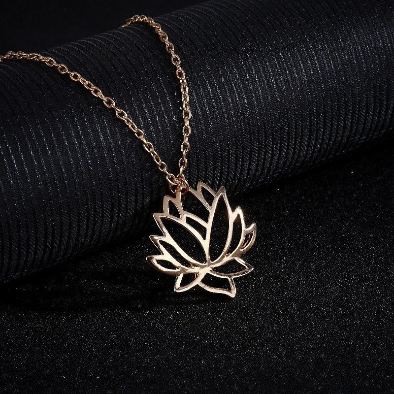 Lotus Choker Necklace