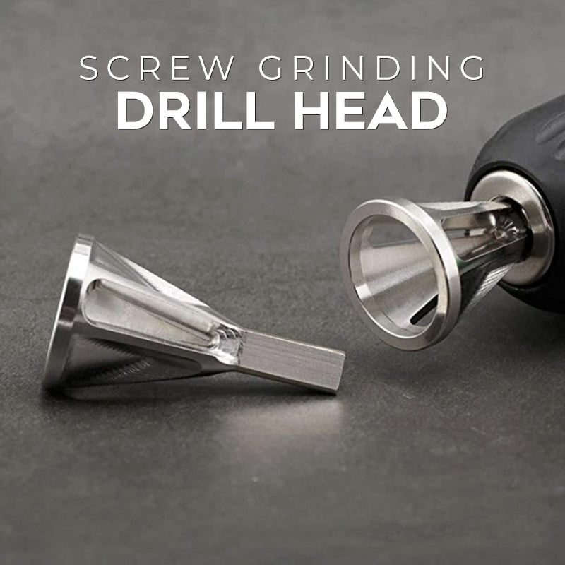 Screw Grinding Drill Head