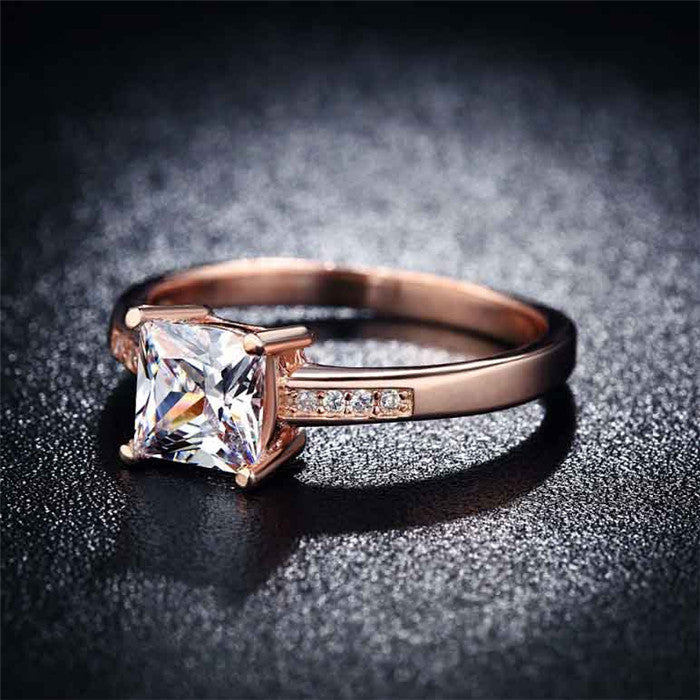 Rose Gold Vintage Ring