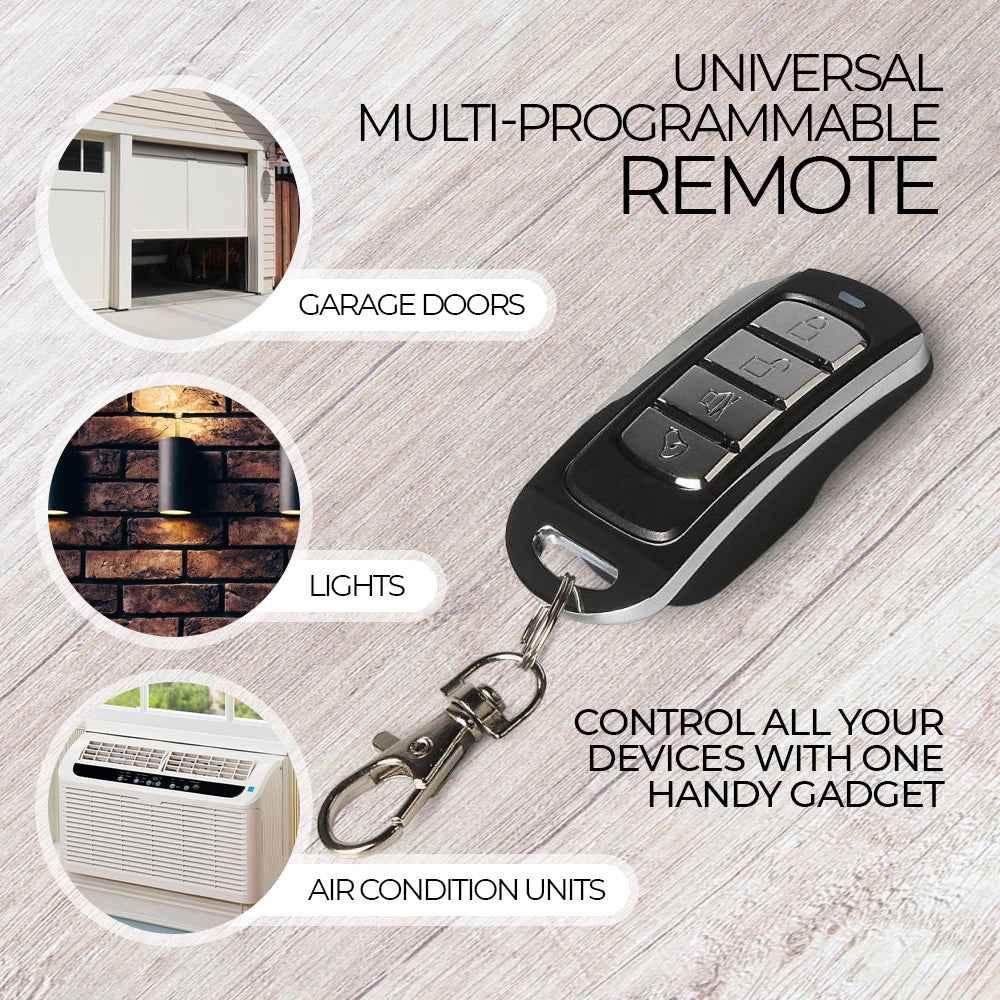 Universal Multi-Programmable Remote