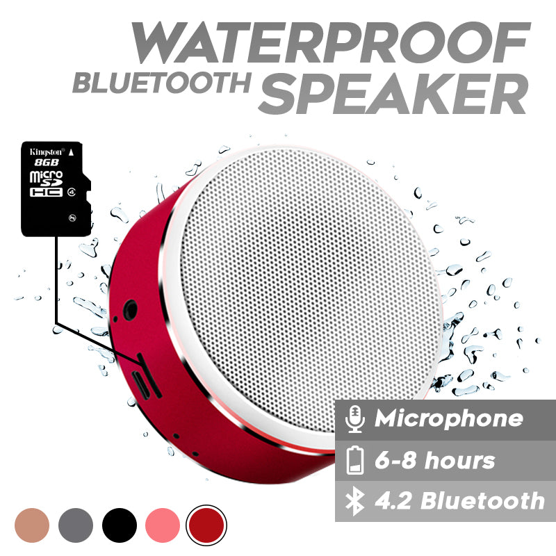 Bluetooth 4.2 Waterproof Speaker