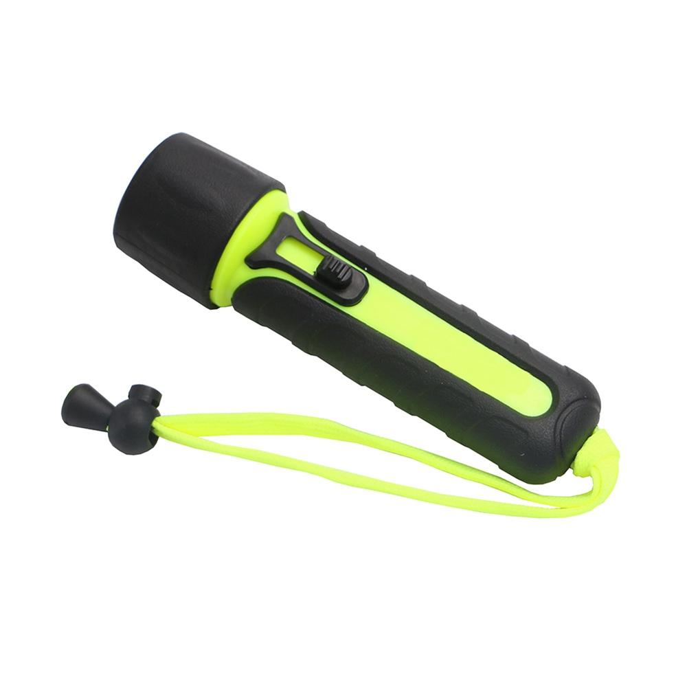 ZHISHUNJIA YH-6959 300LM AA LED Magnetron Switched Diving Flashlight