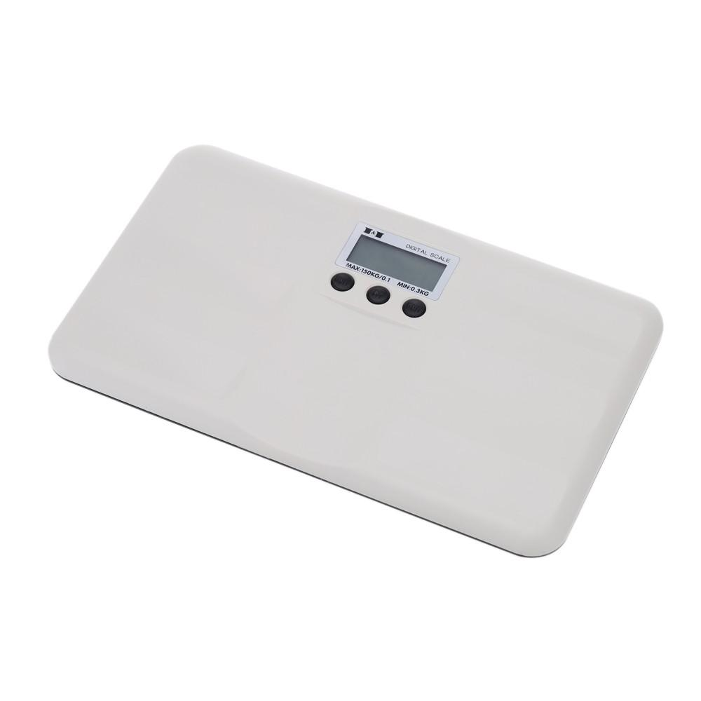 150kg/100g Portable Electric Digital Baby Scale Weighing Tool LCD Display