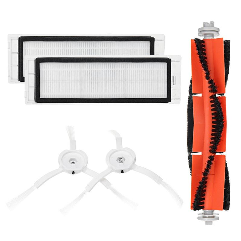 Main Brush Filters Side Brushes Accessories for XIAOMI MI Robot Vacuum
