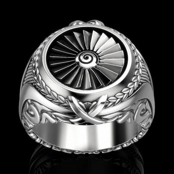 Metal turbine ring
