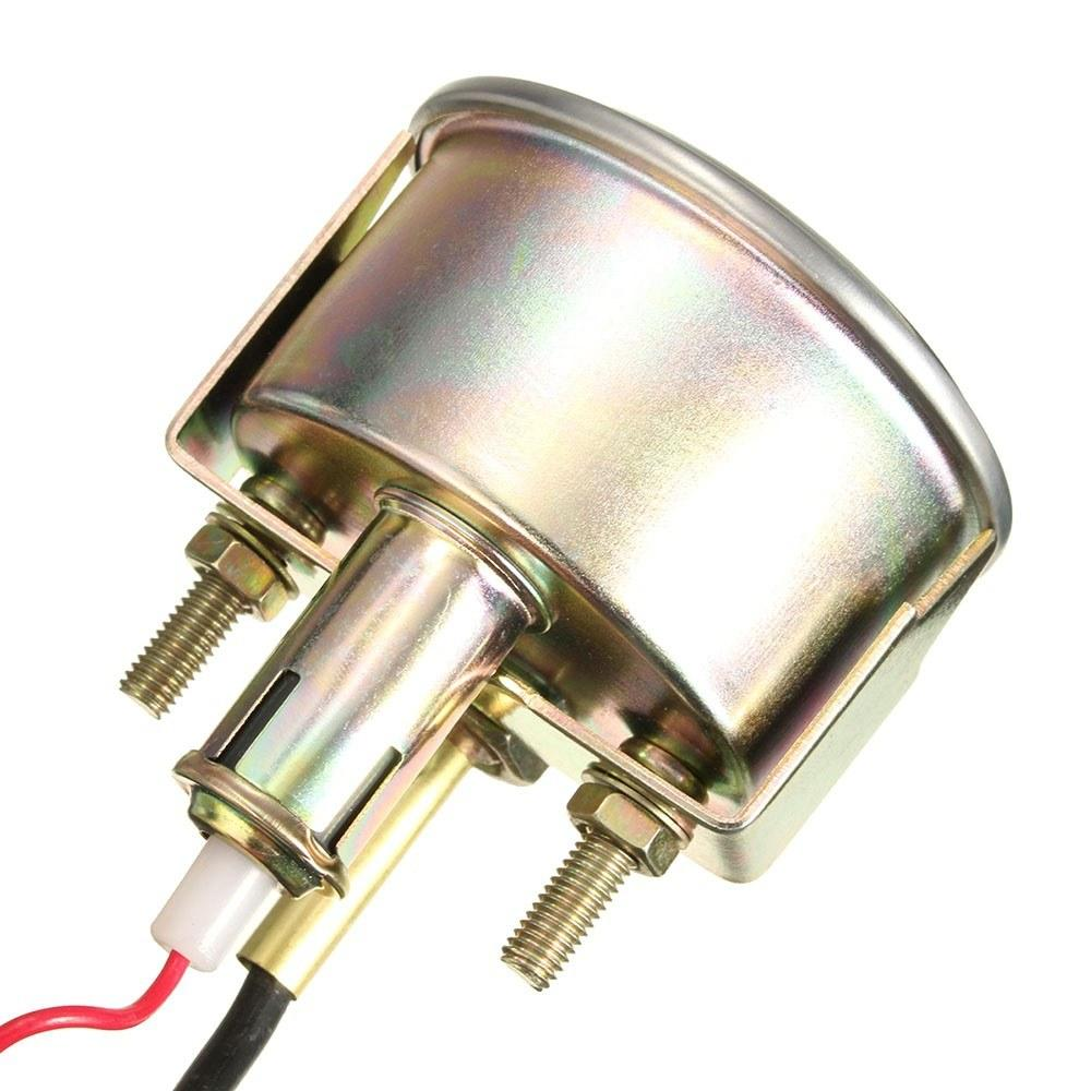12V 52mm Auto Mechanical Water Temperature Meter Gauge Car Industrial Water Temperature Thermometer