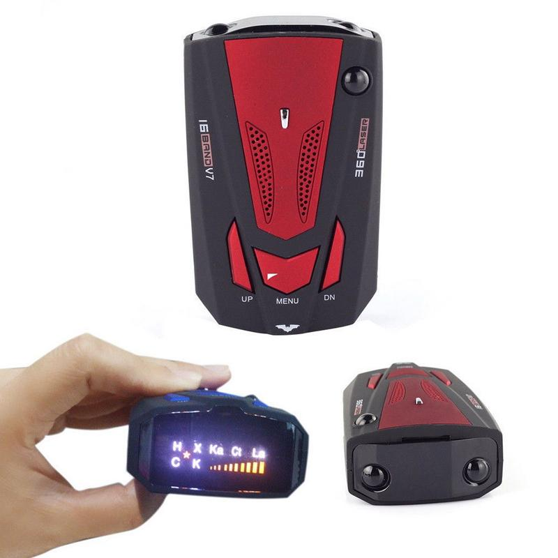 Auto Car Anti  Detector for Vehicle V7  LED Display Detector