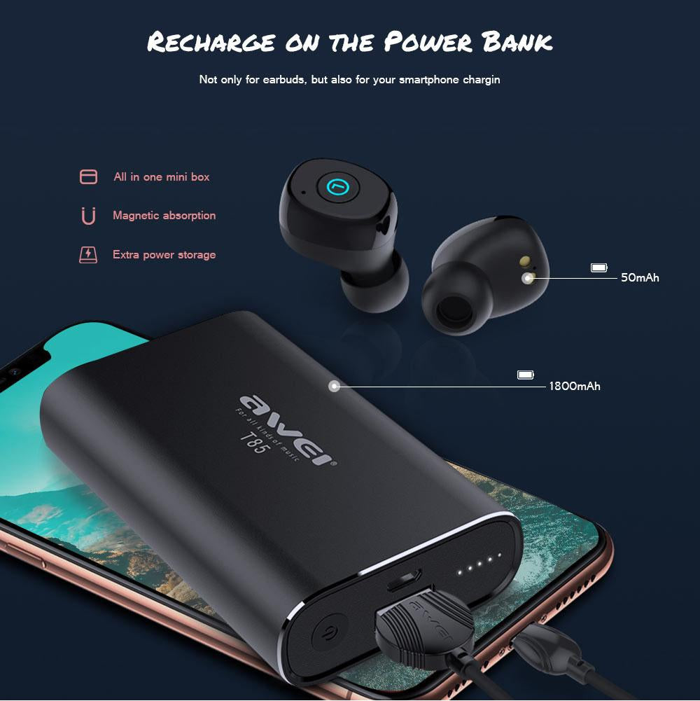 Charging Base  Wireless Earbuds