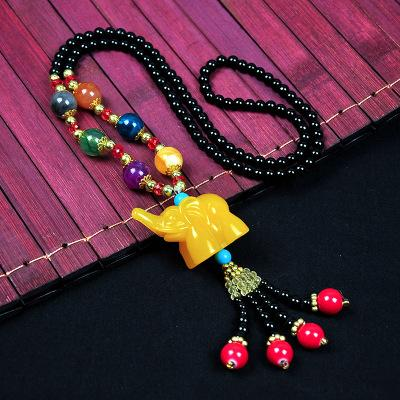 autumn and winter necklace