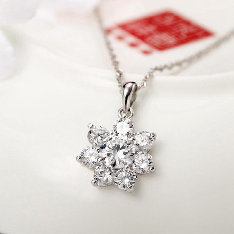 S925 silver necklace
