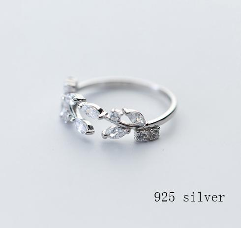 Leaf zircon opening ring