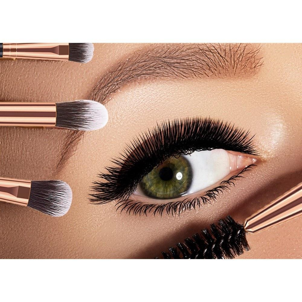 12pcs Eye Makeup Brushes Set Cosmetics Brush Eye Shadow Concealer Eyebrow Foundation Powder Liquid Cream Blending Brushes