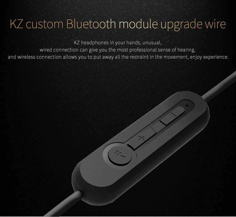 KZ Wireless Bluetooth Module Upgrade Detachable Cord for ZS3 / ZS5 / ZS6