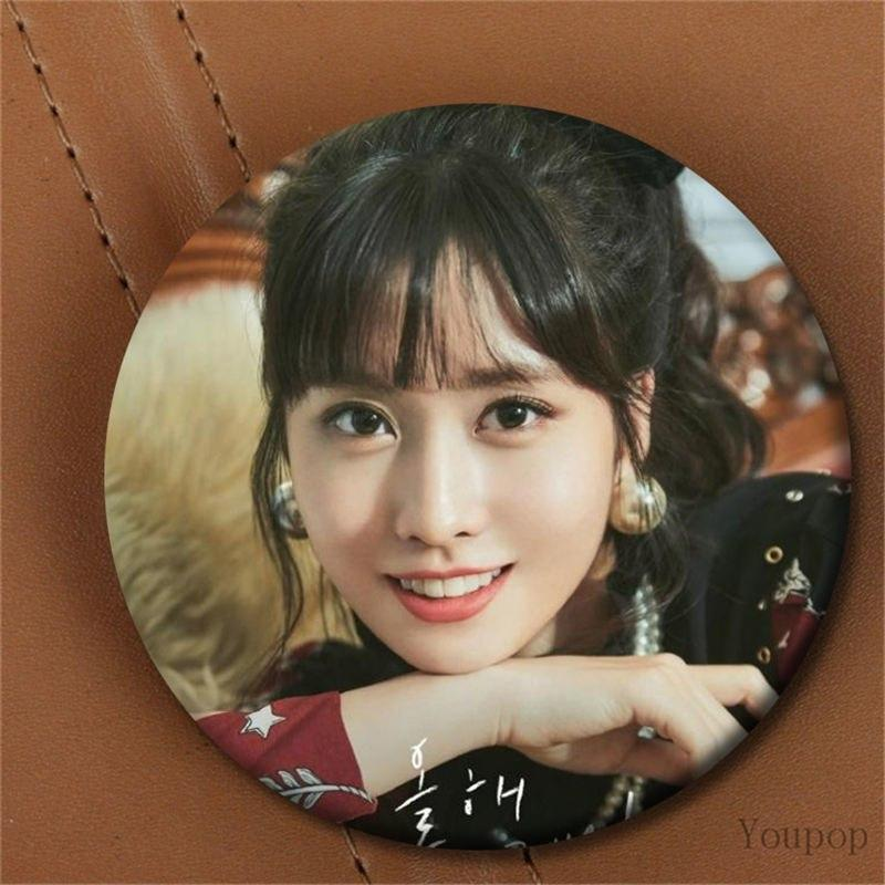 Youpop KPOP TWICE The 3rd Special Album The Year of Yes NAYEON JEONGYEON MOMO Photo Badge Pins Brooches for Clothes Hat Backpack