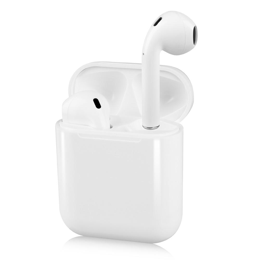 i12 TWS Bluetooth Headphones True Wireless Earphone with Mic In-ear Earbuds Touch Control Charging Case Compatible with iPhone Android