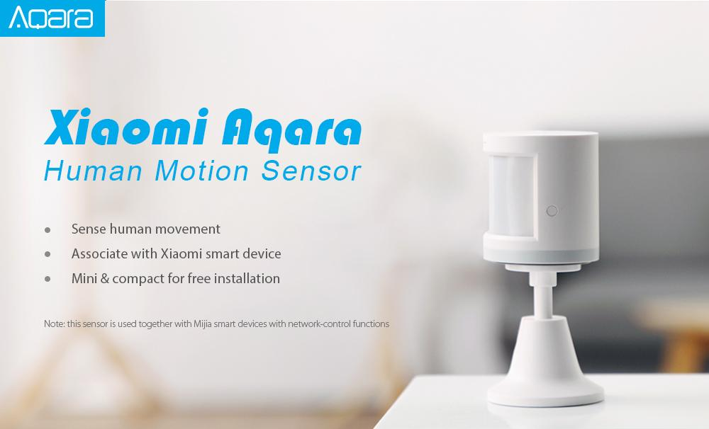 Aqara RTCGQ11LM Smart Home Human Motion Sensor Security Device ( Xiaomi Ecosystem Product )
