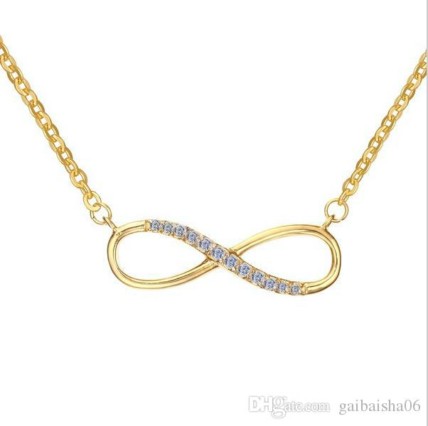 Infinity Pendant Necklaces