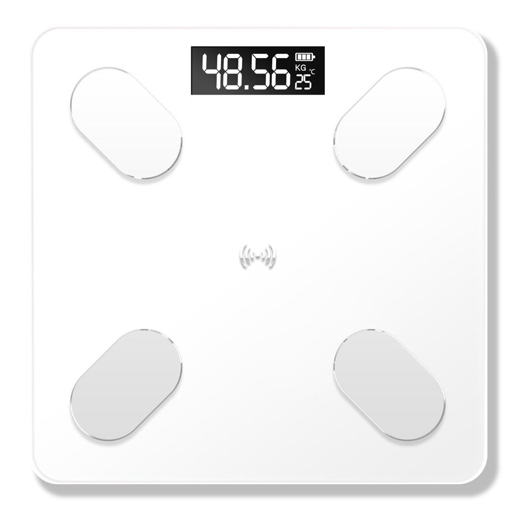 USB Rechargeable Intelligent BT Digital Body Fat Electronic Scale