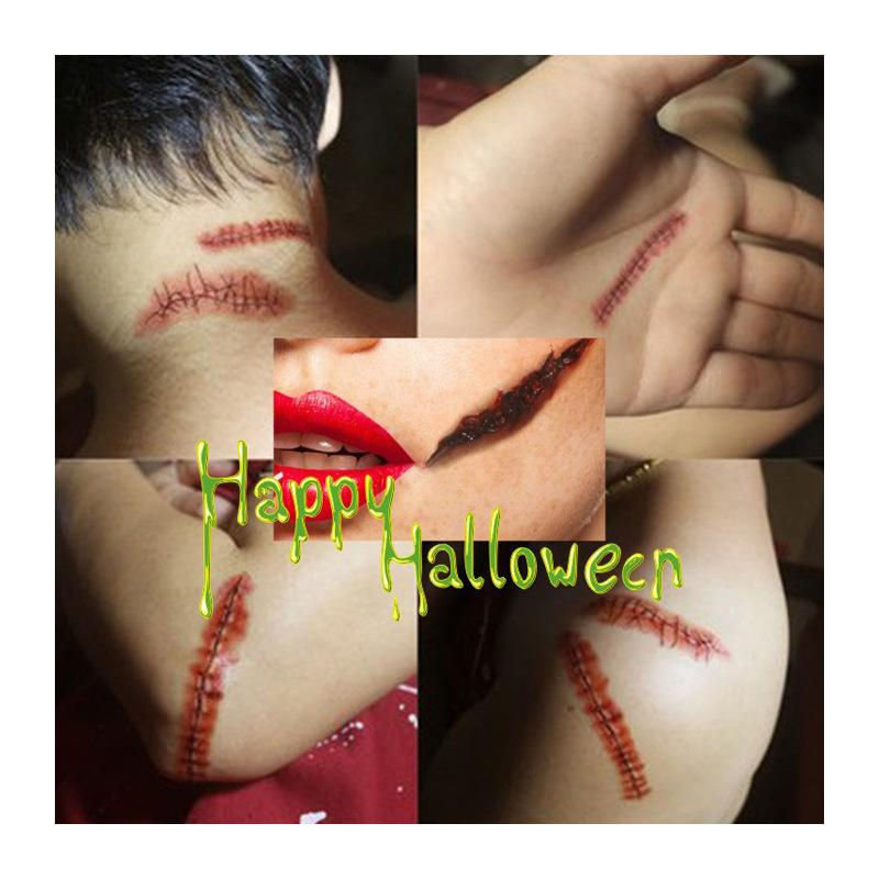 Halloween Wound Tattoo Sticker