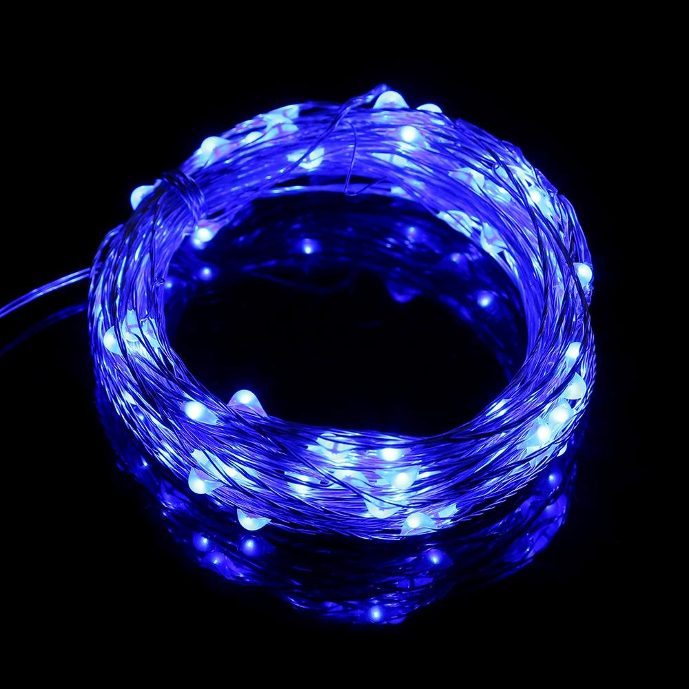 100 LEDs Copper Wire String Fairy Light Waterproof LED Decoration Lamp