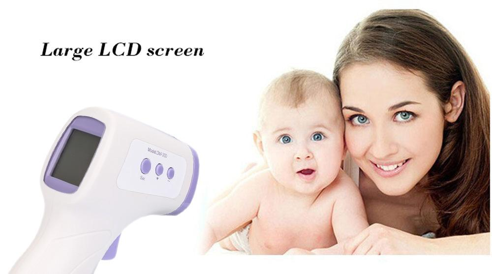 Professional Baby / Adult Digital Multi Function Infrared Forehead Thermometer
