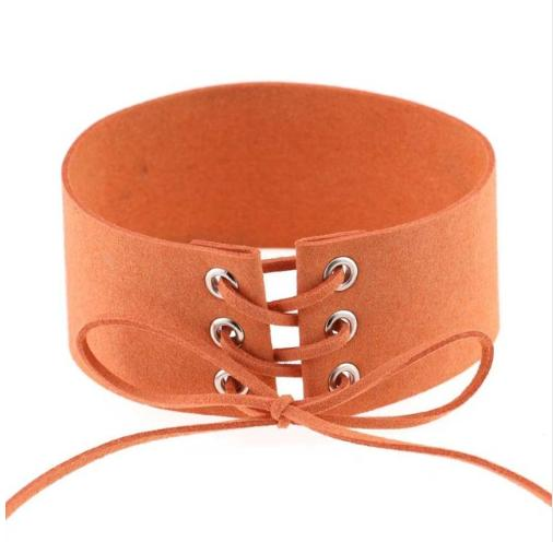 Exaggerated punk sex bondage collar collar neck necklace neck clavicle necklace