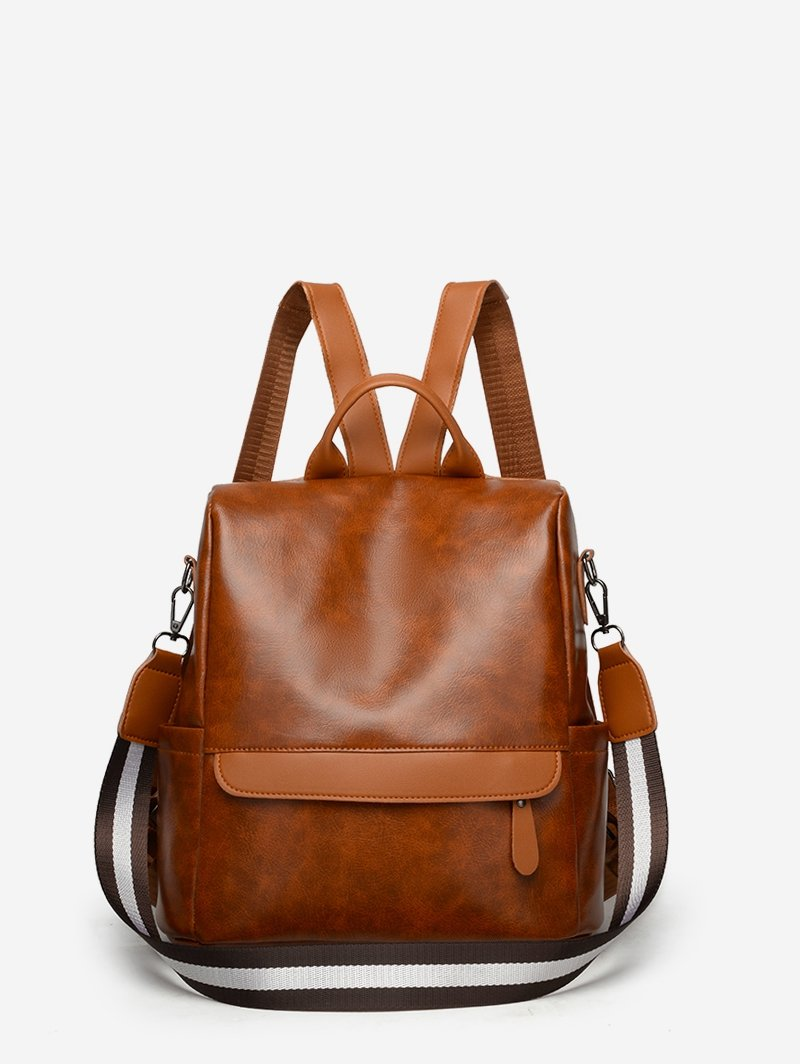 Leather Casual Multifunctional Backpack
