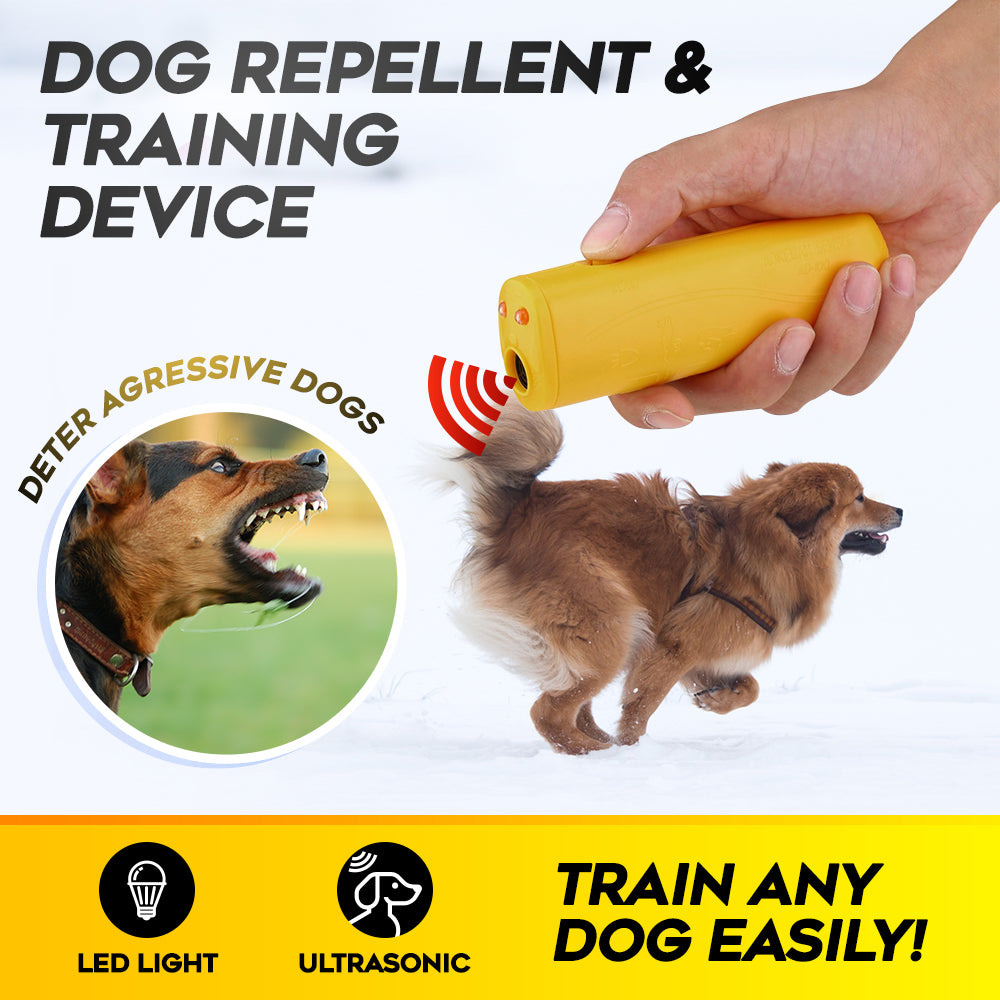 LED Ultrasonic Dog Repellent