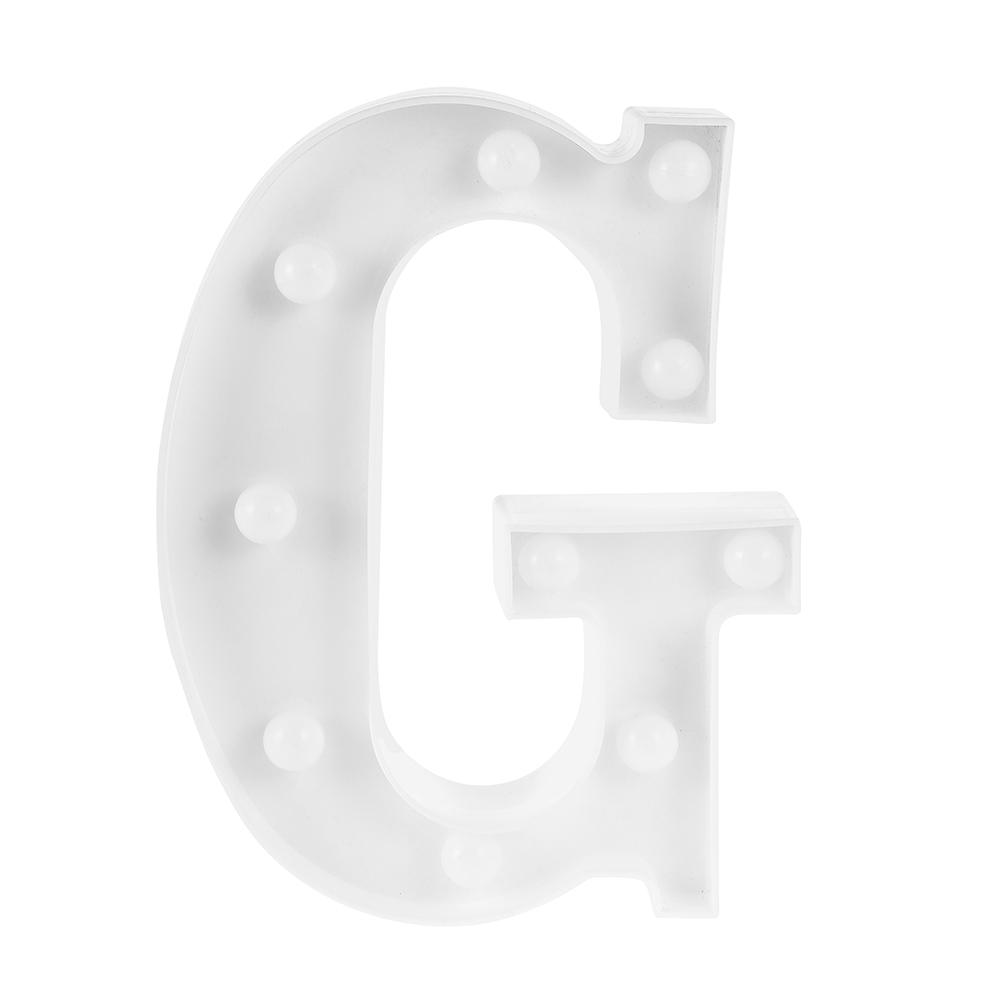 Creative 3D Marquee Letter Symbol LED Night Light