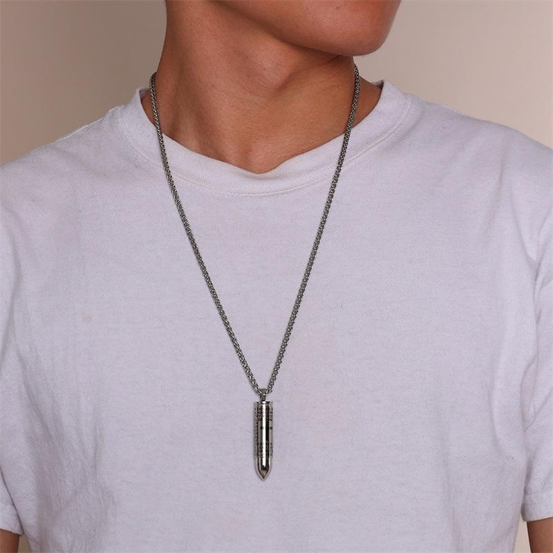 Cross scripture pendant