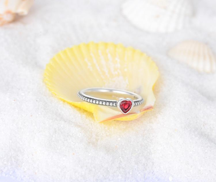 925 sterling silver heart ring