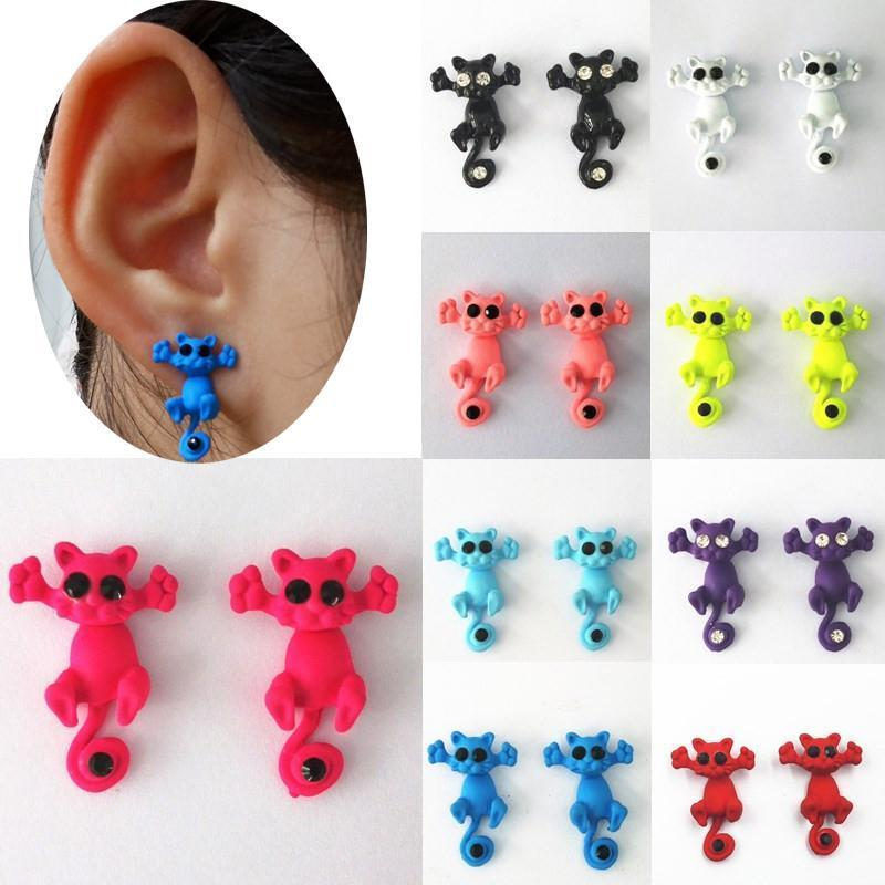 Multicolored Stud Earrings