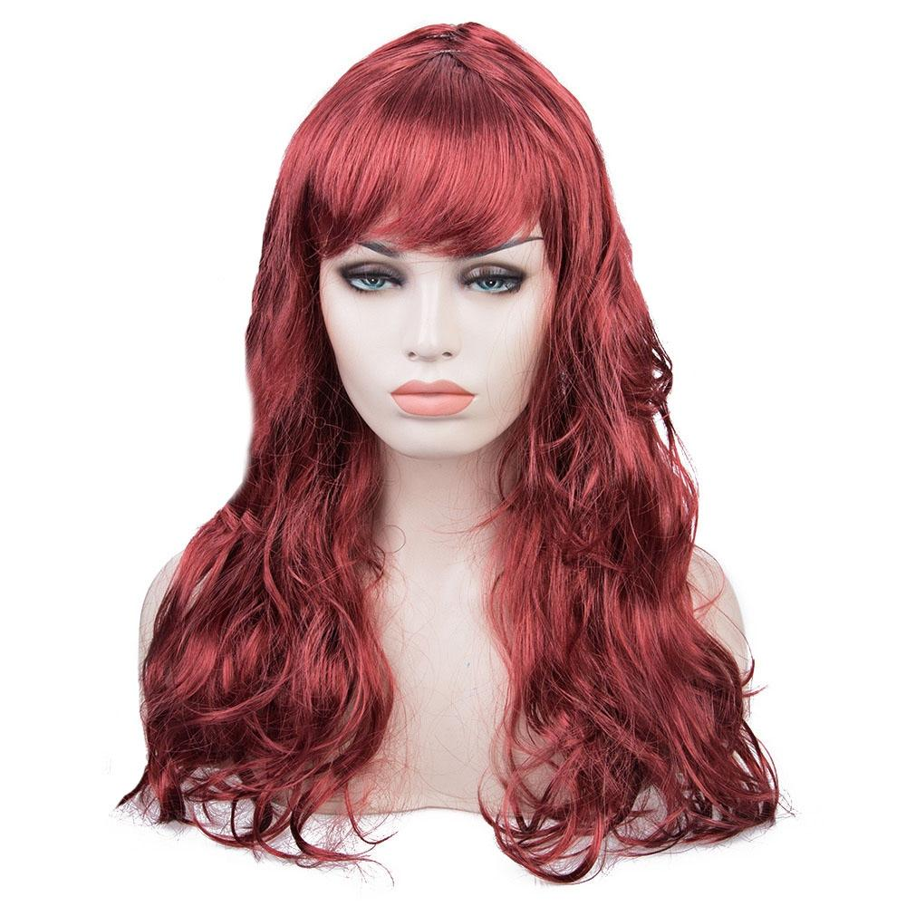 Women Long Big Wavy Wig Hair Cosplay Party Costume
