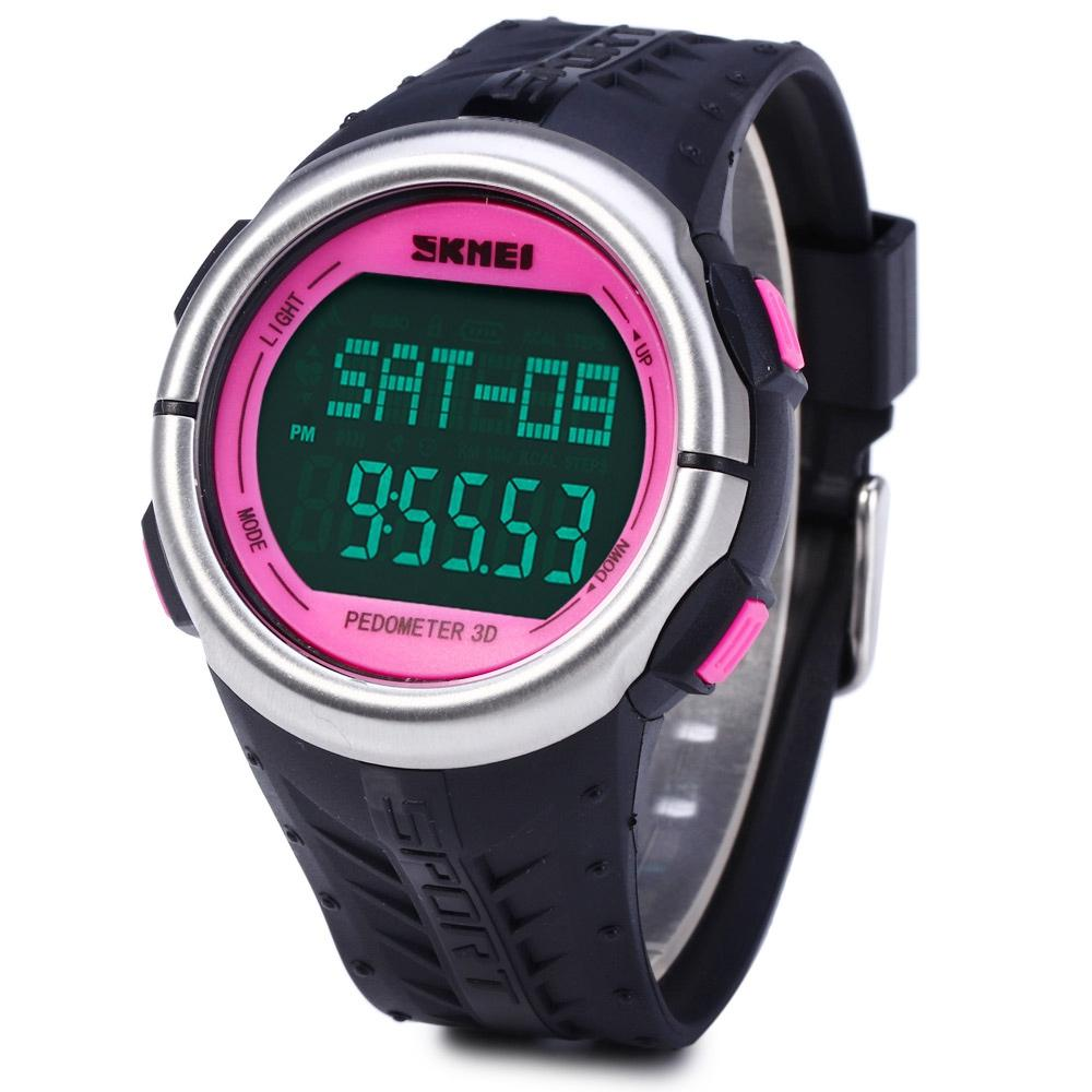 Skmei 1058 Multifunctional LED Wristwatch
