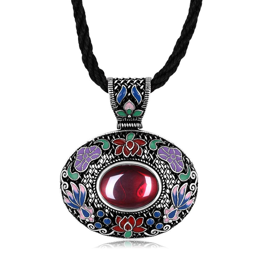 N011-B Classic National Style Necklace for Women