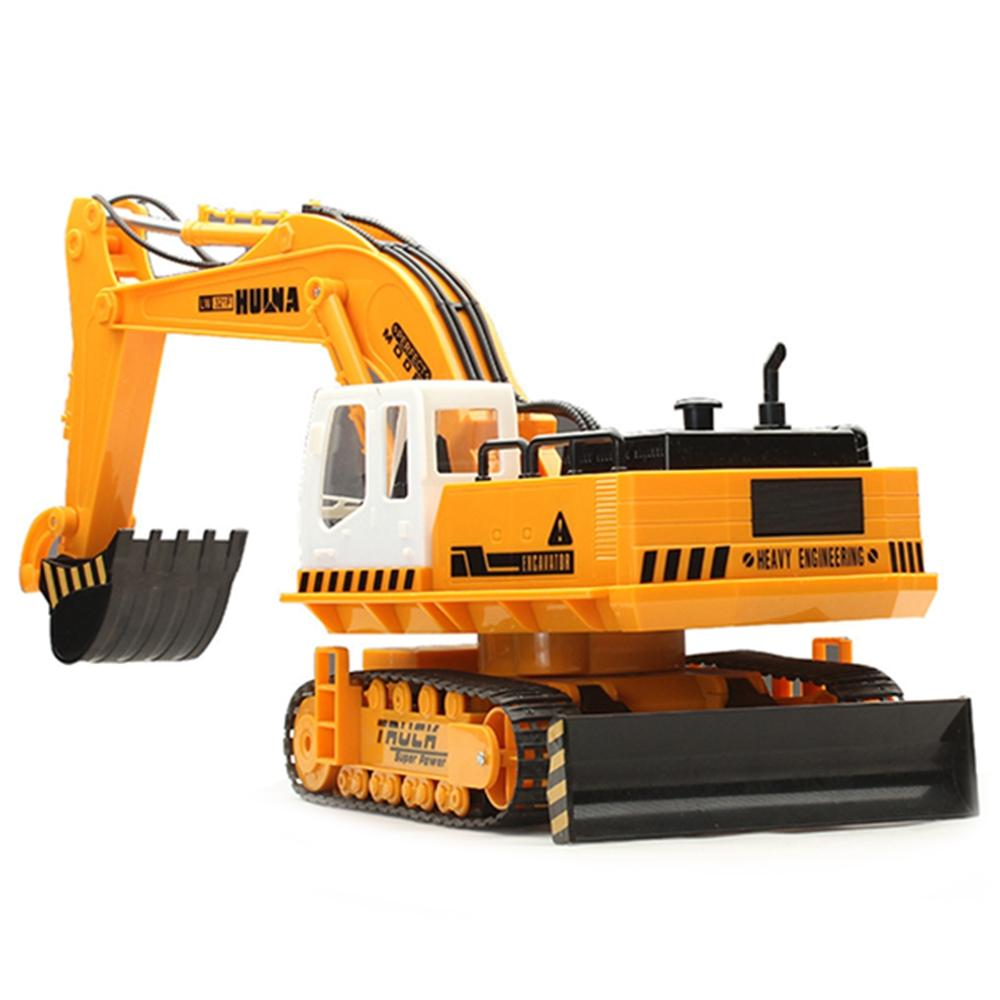 HUI NA TOYS 310 11 Channel Wireless Remote Control Excavator Toy