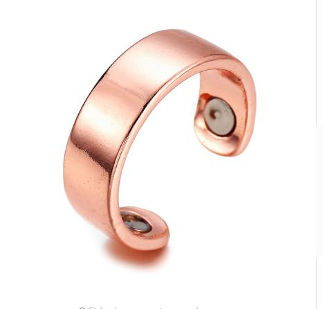 Personality Ring Magnetic Health Ring Rose Gold Creative Jewelry Europe Ring